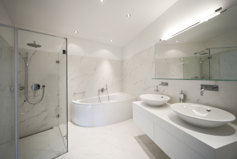 Incorporate Clean Lines And Use Minimal Colours To Create A Luxurious Mood  And Inviting Feel For Your Bathroom. Part 88