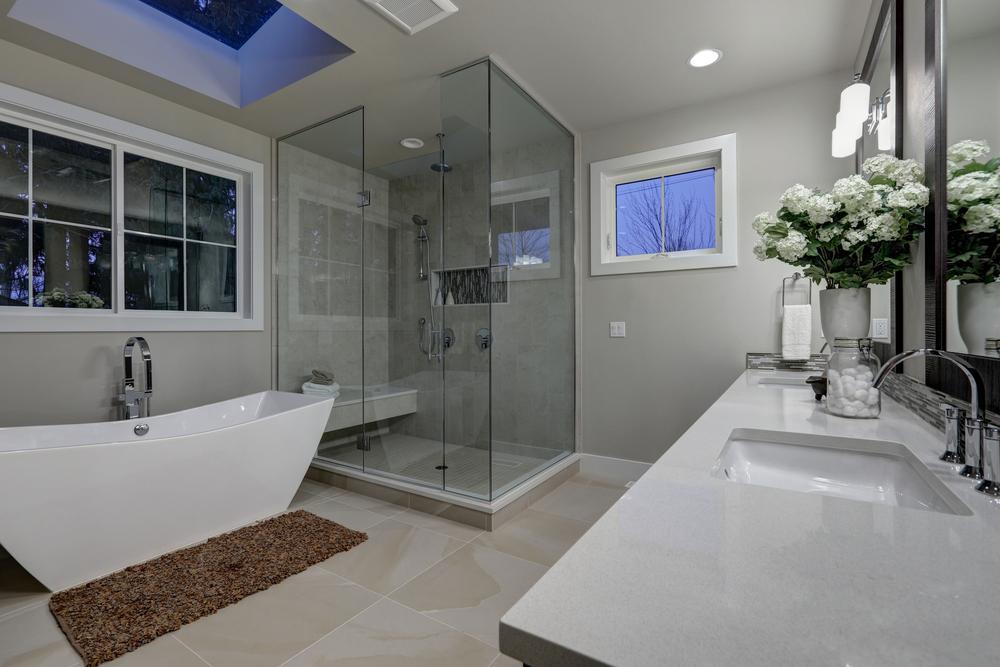Bathroom Makeover Vs Total Renovation Latand Bathroom Renovations - Total bathroom renovations